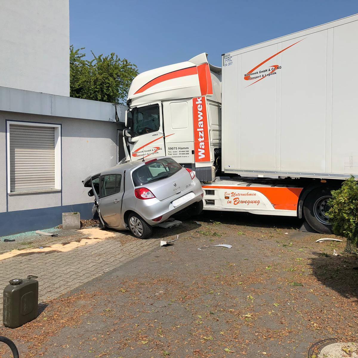 Unfall auf dem Bockumer Weg - Radio Lippewelle